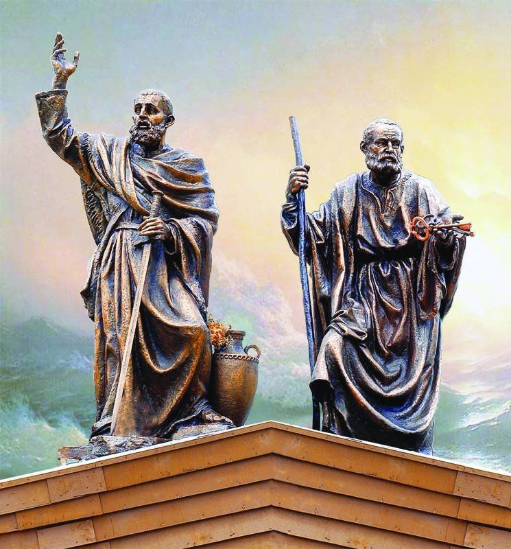 Петра і Павла вважають покровителями пастухів, хоча самі таким заняттям не займались.