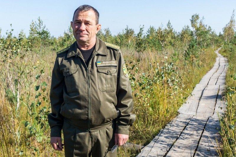 """Директор Черемського заповідника Степан Пащук: """"Осушили б болота - і зовсім інший був би тут ландшафт"""""""