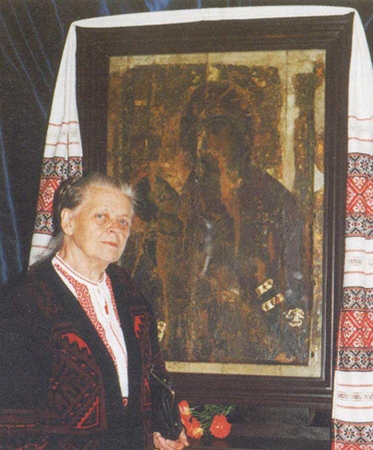 Зберегла її для нас народна майстриня Надія Горлицька.
