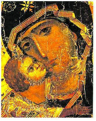 Погляньте, яку теплоту та любов упродовж століть випромінює ікона Ніжність…
