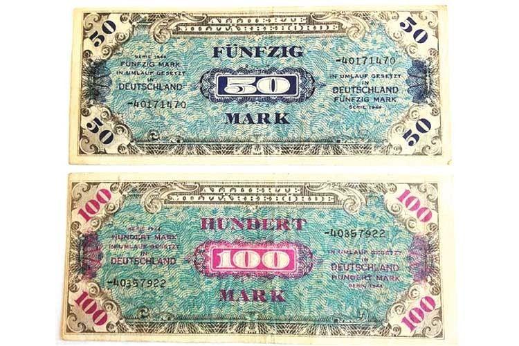 Такі німецькі банкноти існували всього кілька років.