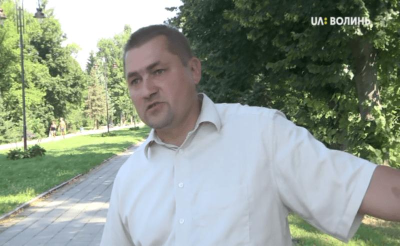 Начальник департаменту житлово-комунального господарства Луцької міської ради Микола Осіюк.