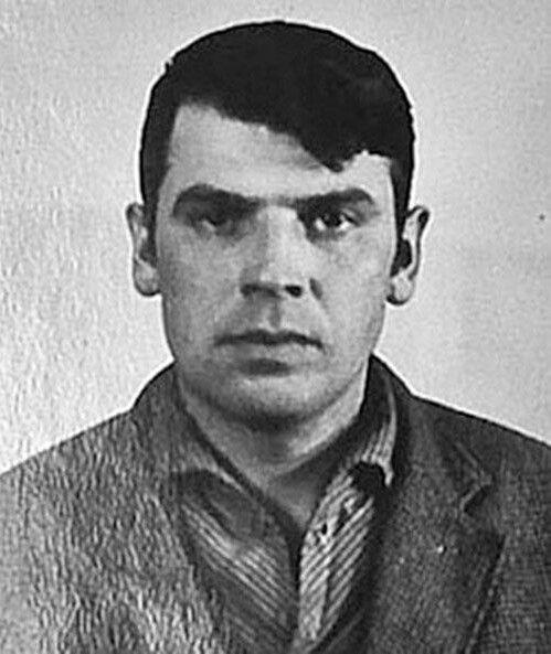 Віктор Кукса у момент арешту.
