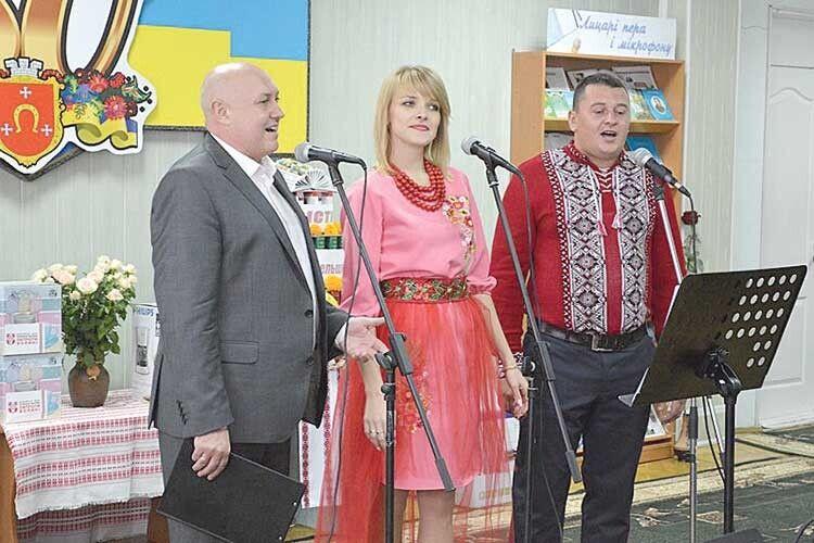Ковельські співаки вразили  присутніх своїми голосами.