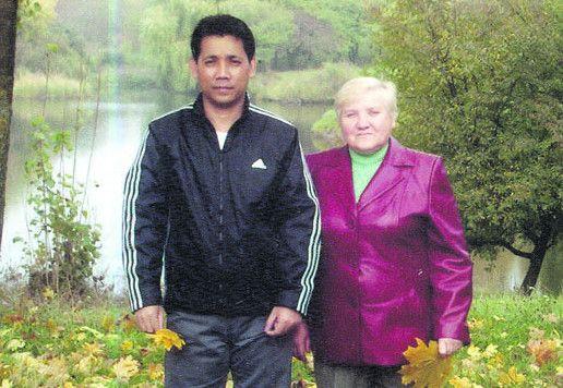 Таїландський зять Лариси Іванівни любить гостювати у Луцьку.