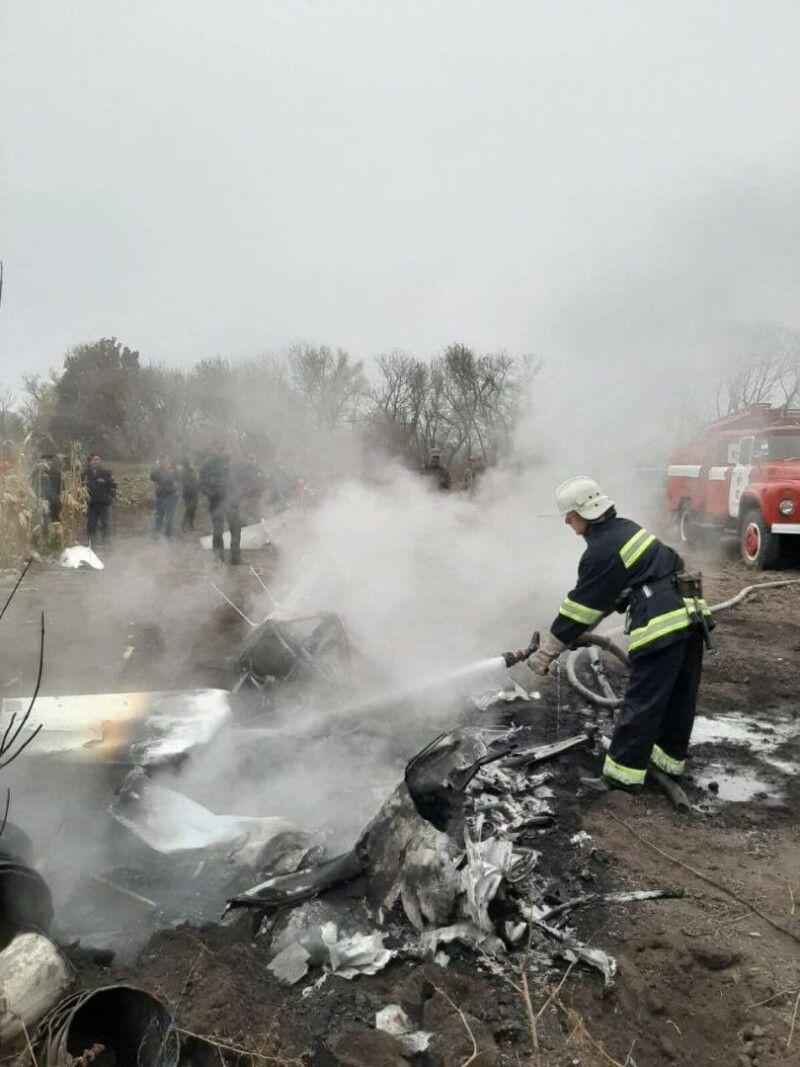 Авіакатастрофа сталася поблизу села Тарасенкове.