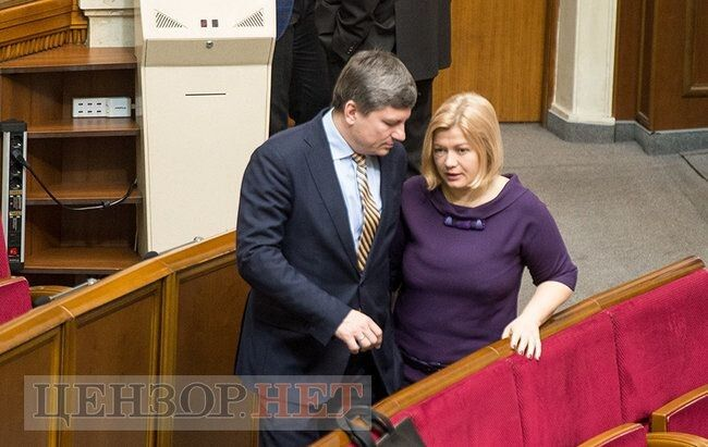 Ірина Геращенко та Артур Герасимов - співголови фракції.