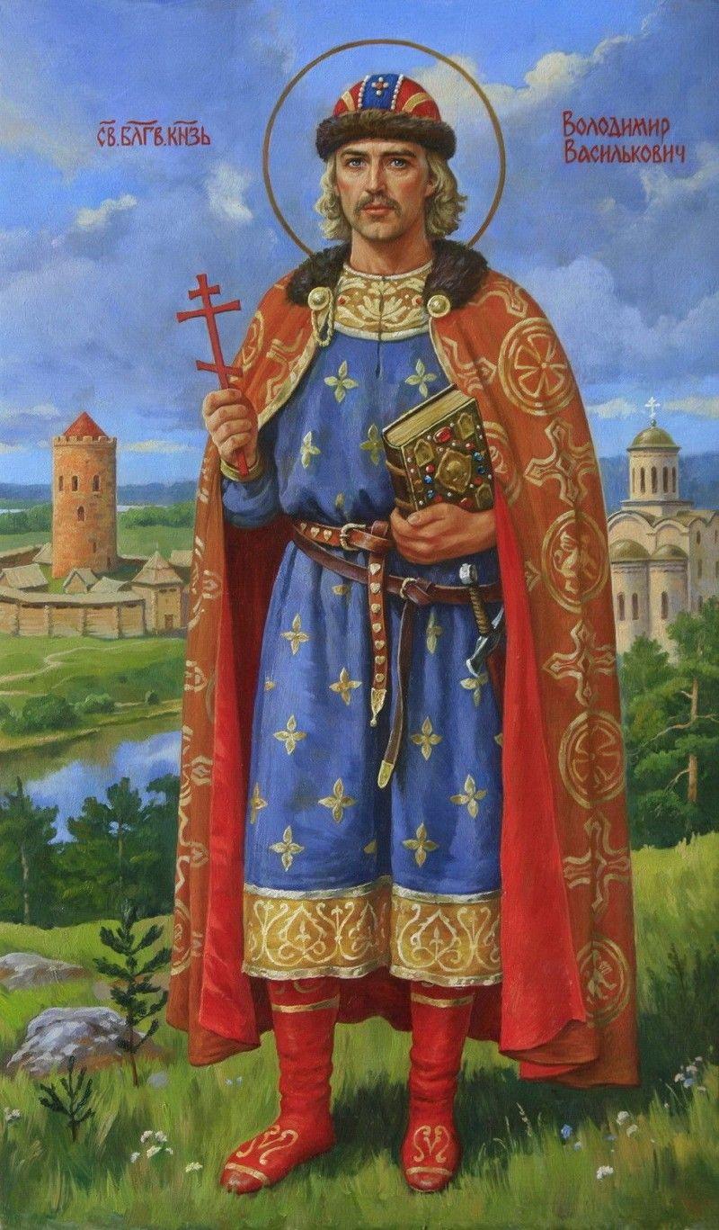 Таким побачив благовірного правителя сучасний художник Артур Орльонов.