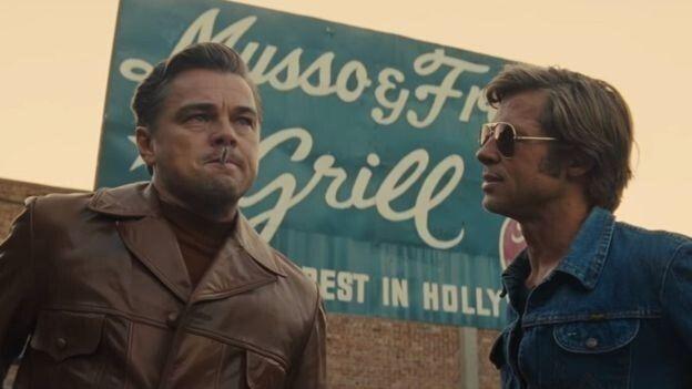 Кадр із фільму «Одного разу в Голлівуді»