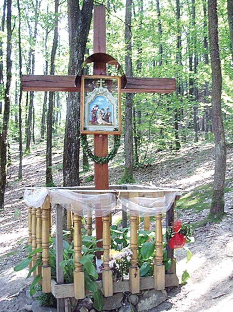 Там, де з'явилася Божа Матір, закровоточив хрест. А кров ця не належить ні людині, ні тварині…