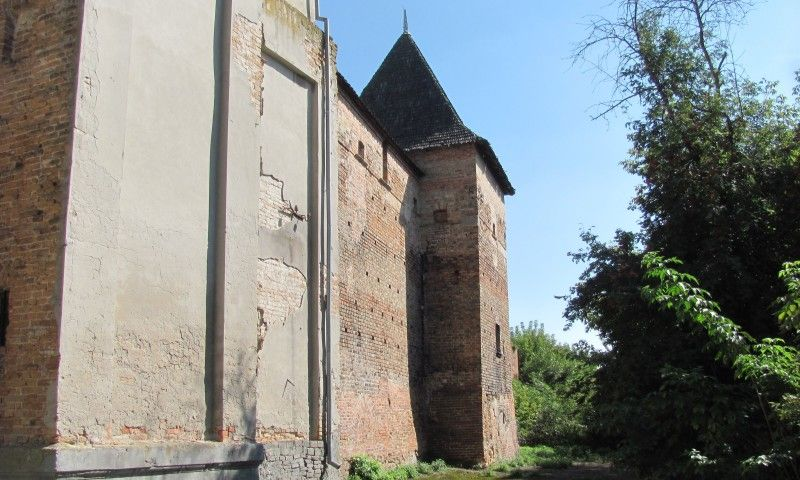 Такий вигляд нині має вежа Чарторийських.