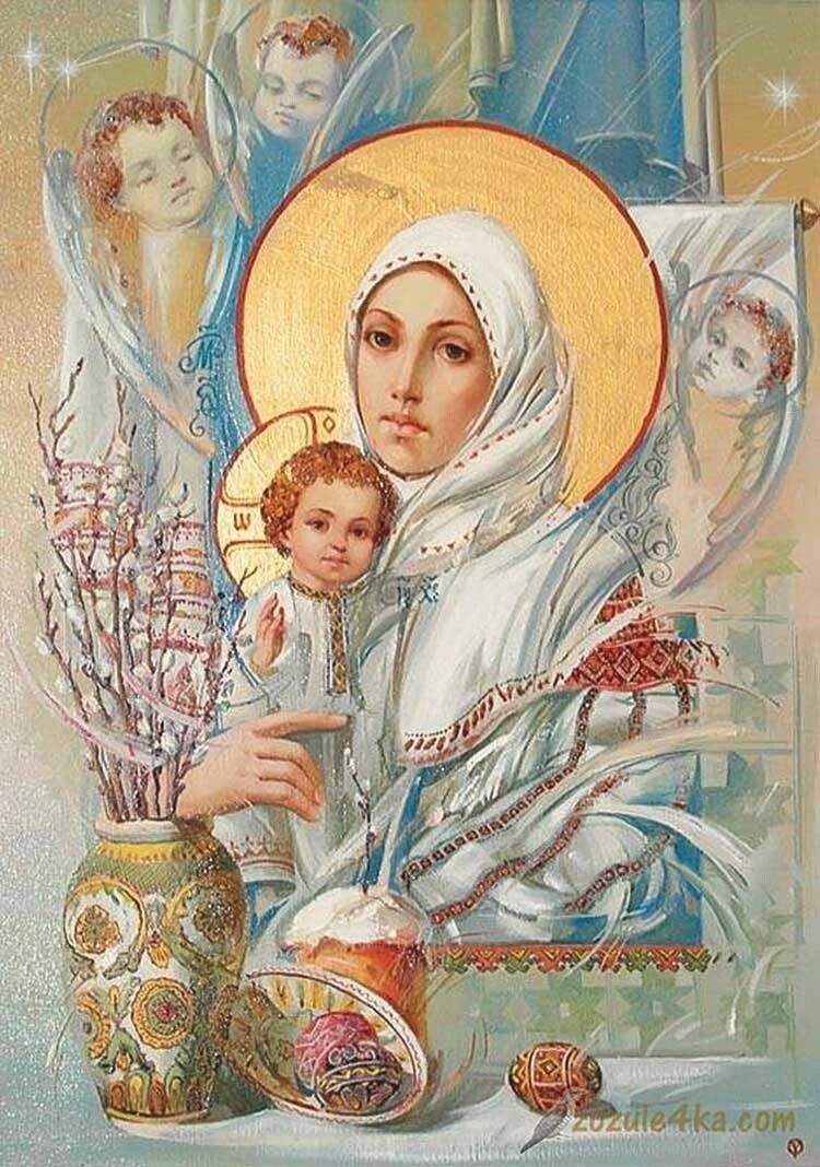 Ікона Олександра Охапкіна «Божа Мати Милостива».