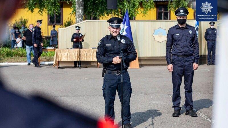 Начальник патрульної поліції у Рівненській області Сергій Мерчук.